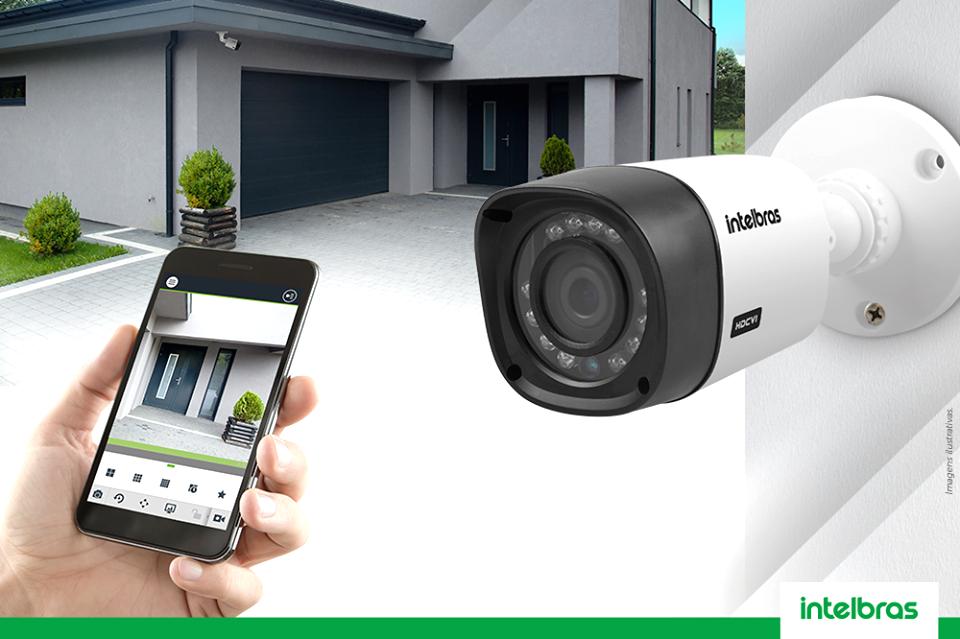 As câmeras de monitoramento em SJC